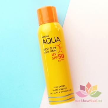 Kem chống nắng dạng xit Aqua ảnh 1