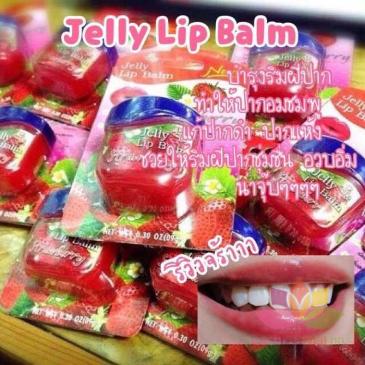 Son dưỡng trị thâm làm hồng môi Jelly lip Balm ảnh 5