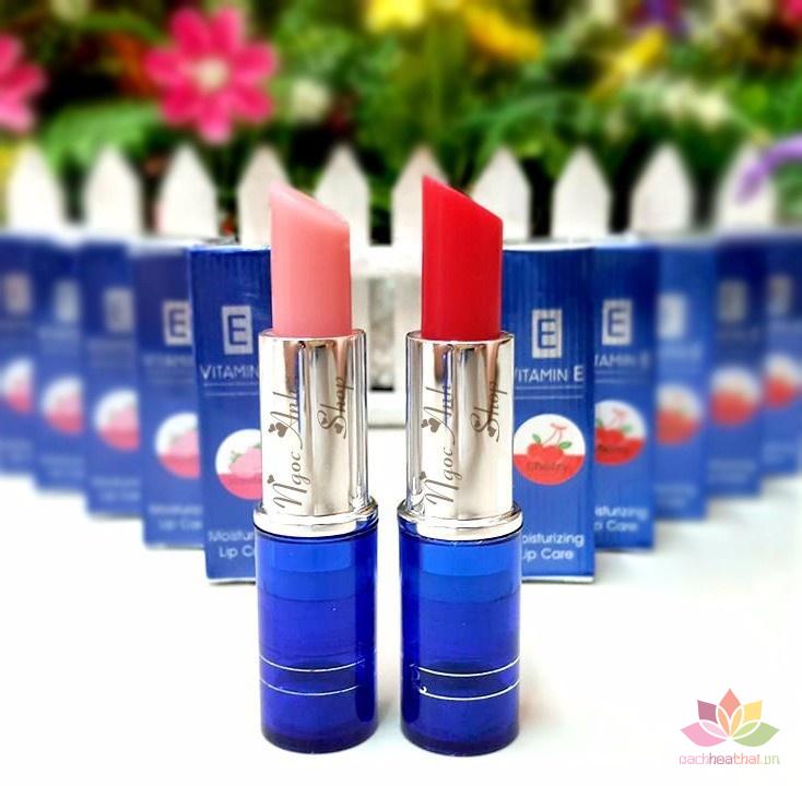 Son dưỡng trị thâm môi Aron Vitamin E
