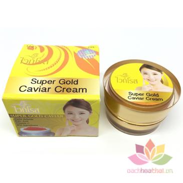 Dưỡng trắng da trị nám Super Gold Caviar Cream ảnh 3