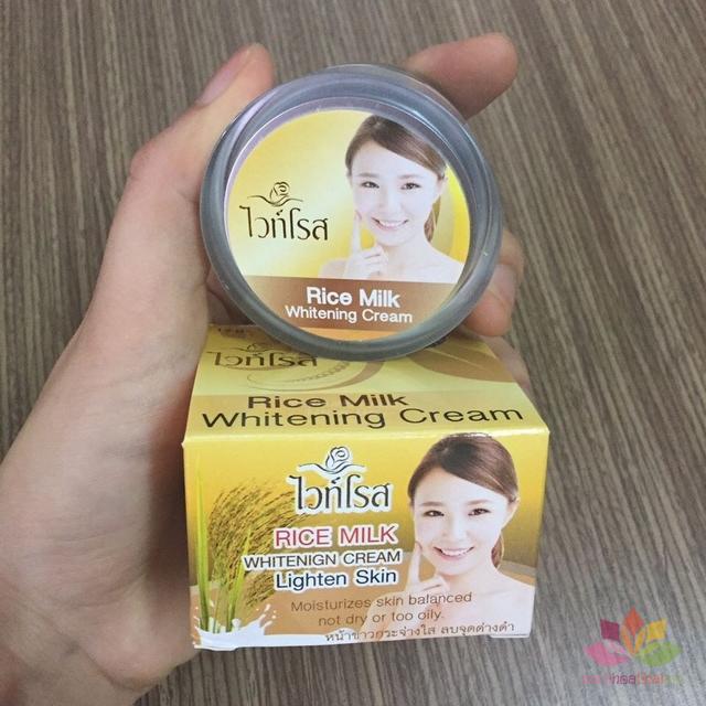 Kem dưỡng trắng Rice Milk Whitening Cream