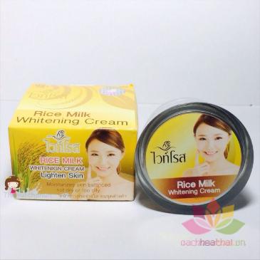 Kem dưỡng trắng Rice Milk Whitening Cream ảnh 6