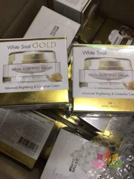 KEM ỐC SÊN WHITE SNAIL GOLD THÁI LAN ảnh 2