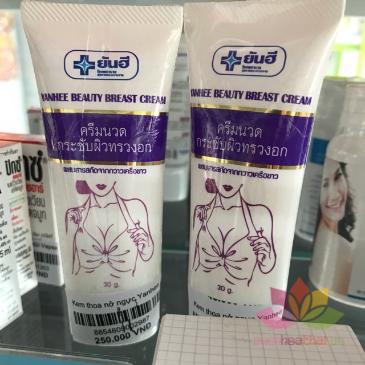 Kem nâng săn chắc ngực Yanhee Beauty Breast Cream ảnh 3