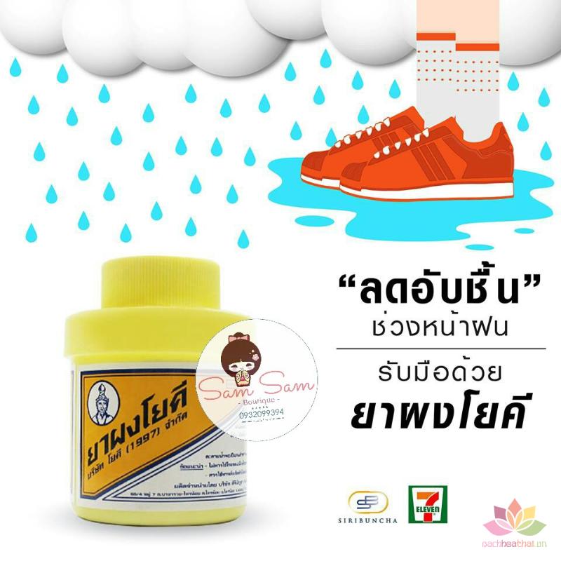 Phấn khử mùi hôi chân Thái Lan Yoki Powder ảnh 3