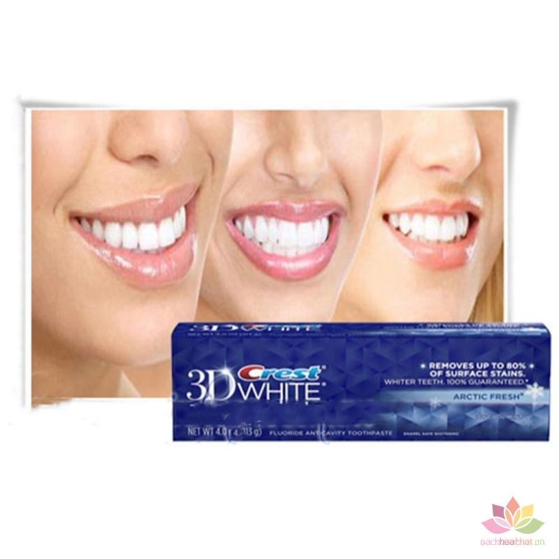 Kem đánh răng Crest 3D White Arctic Fresh ảnh 2