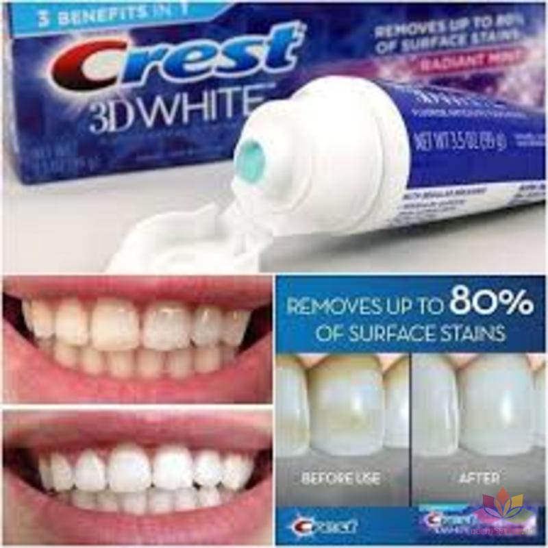 Kem đánh răng Crest 3D White Arctic Fresh ảnh 7
