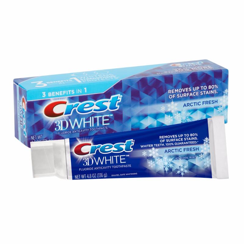 Kem đánh răng Crest 3D White Arctic Fresh ảnh 1