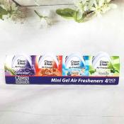 Ảnh sản phẩm Lốc 4 sáp thơm khử mùi Mini Gel Air Freshener 1