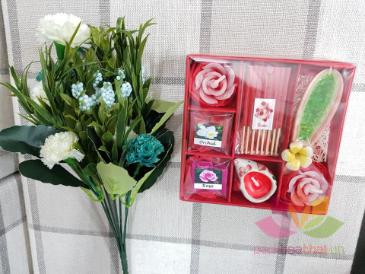 Set quà tặng hương trầm nến ảnh 4