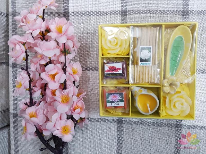 Set quà tặng hương trầm nến ảnh 3
