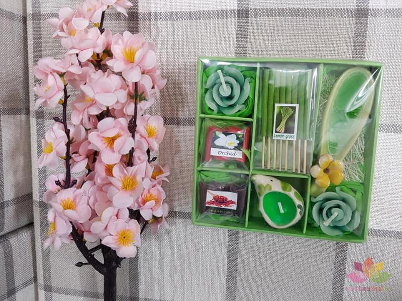 Set quà tặng hương trầm nến ảnh 7