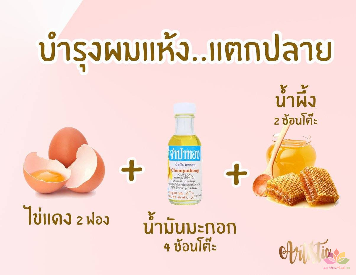 Dầu Olive chăm sóc da Chumpathong Olive Oil Thai (20ML)