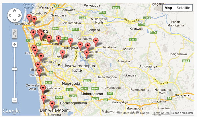 Traffic Hotspots on Dec 07
