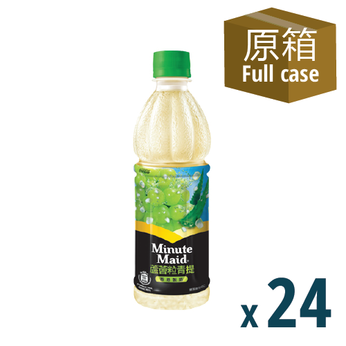 Minute Maid White Grape 24P