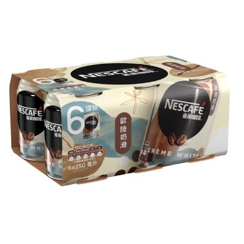 Nescafe Creme White 6P