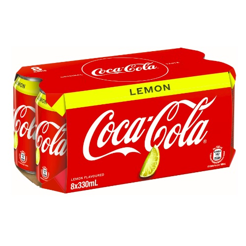 Coca-Cola Lemon 8P