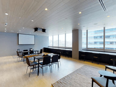 Formal corporate event venues left