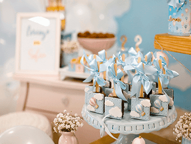 landing page baby-shower