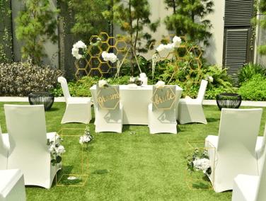 Wedding event venues left
