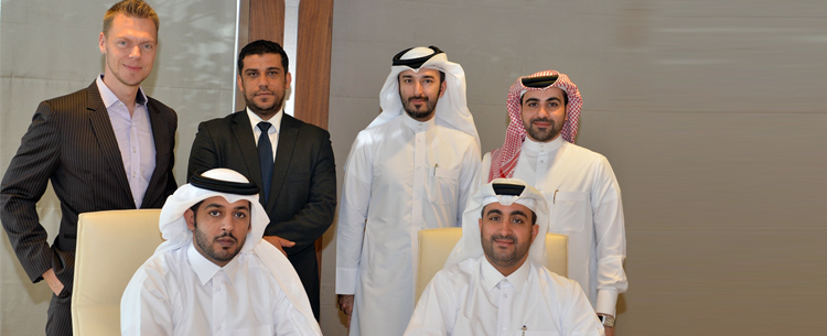QIC-&-QMIC-officials-during-the-launch-of-PHYD-car-insurance-2016
