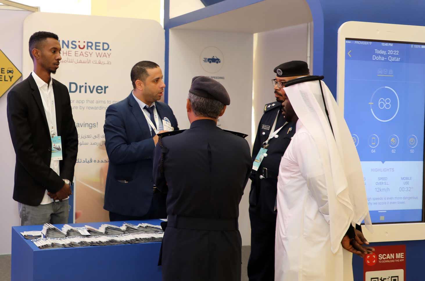 Qic Insured Participates At The International Traffic