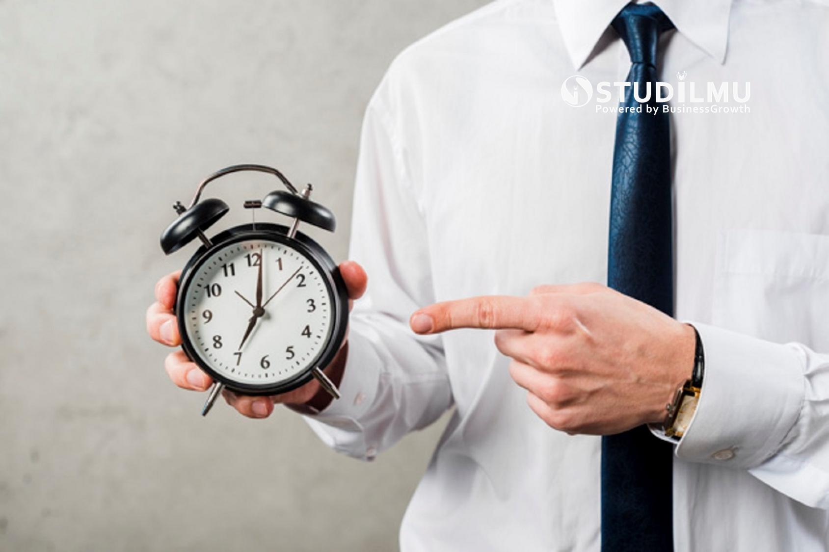 STUDILMU Career Advice - 5 Tips Manajemen Waktu