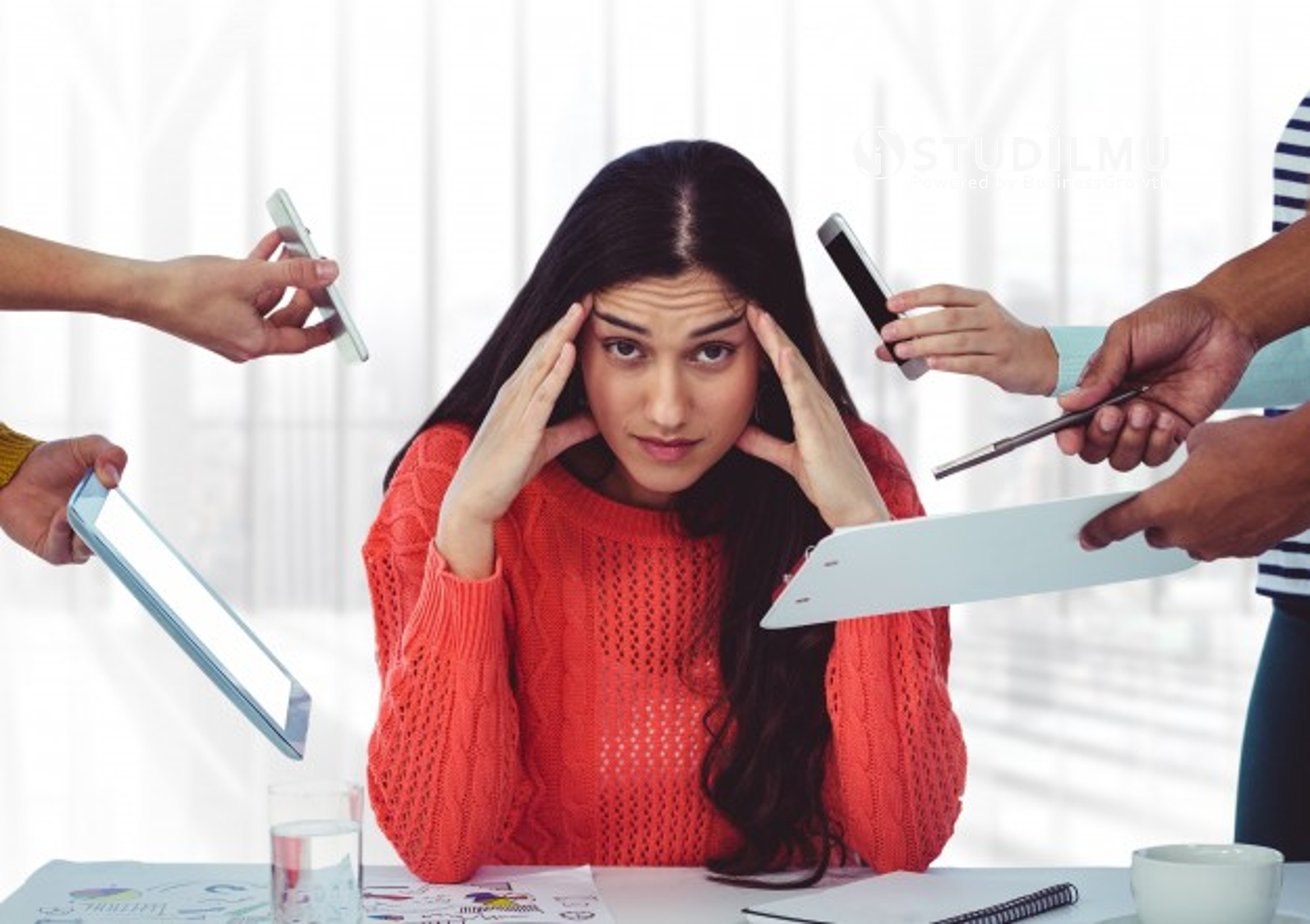 STUDILMU Career Advice - 5 Cara Mengelola Stres di Tempat Kerja