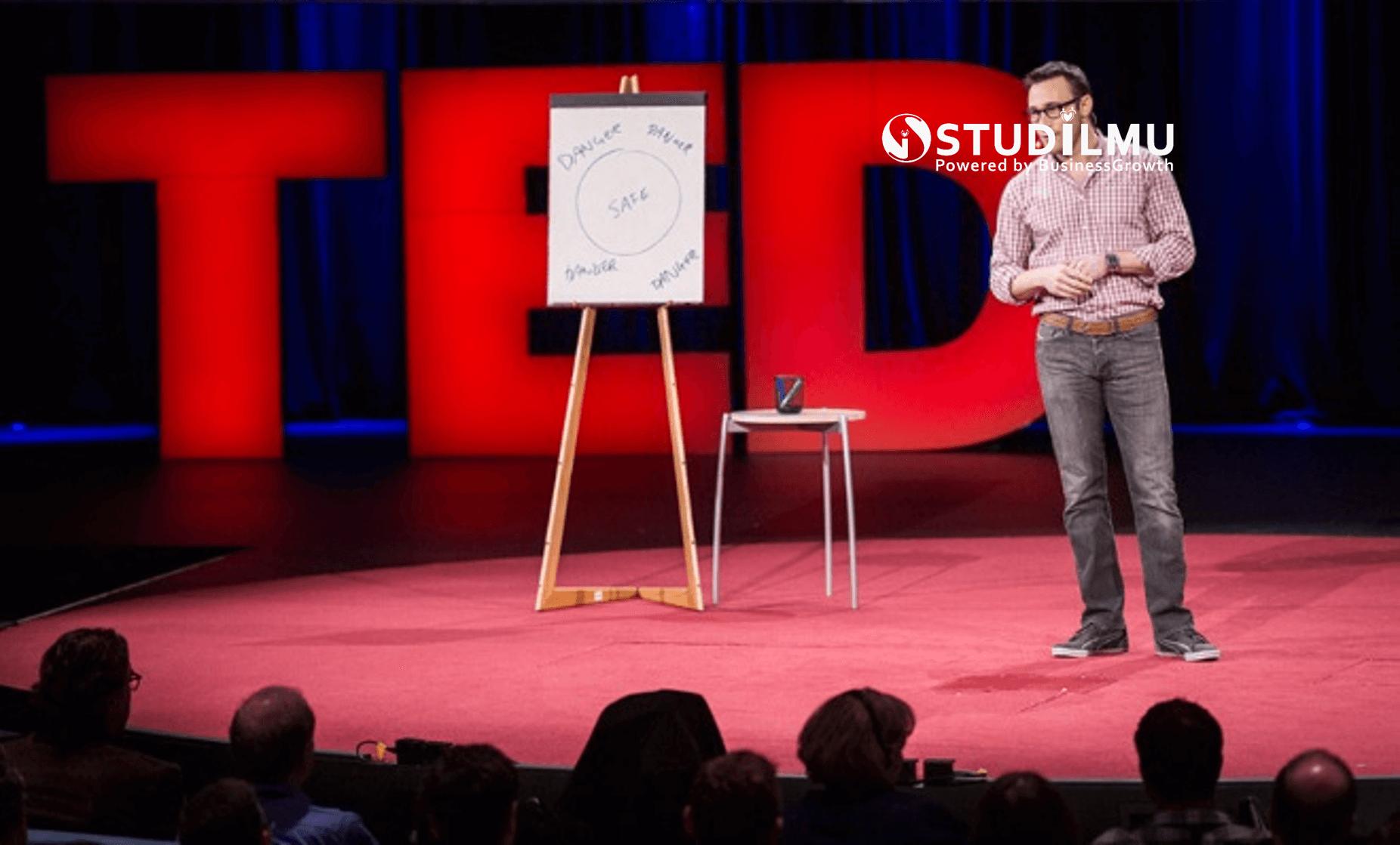 STUDILMU Career Advice - 7 Tips Hebat Public Speaking ala Simon Sinek (TED Talks)