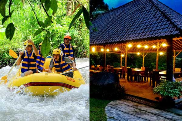 White Water Rafting + Firefly Dinner