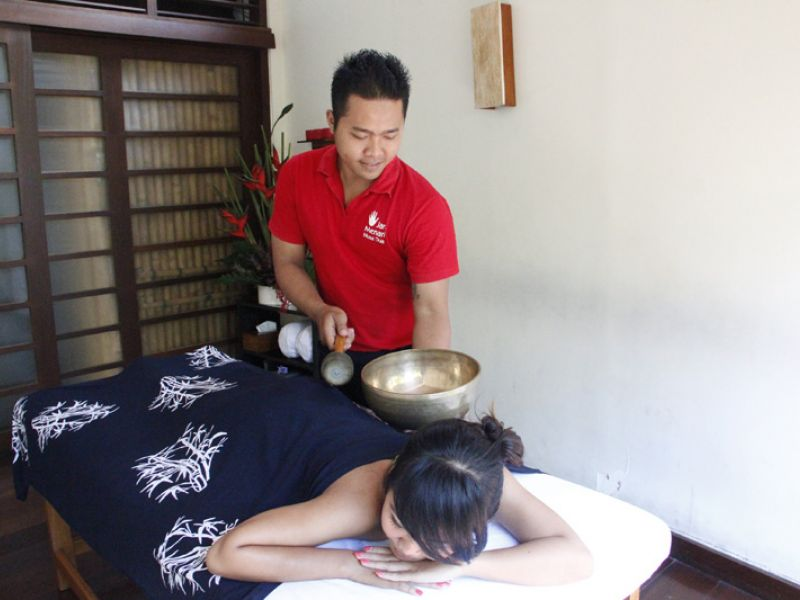 Singing Bowl Treatment