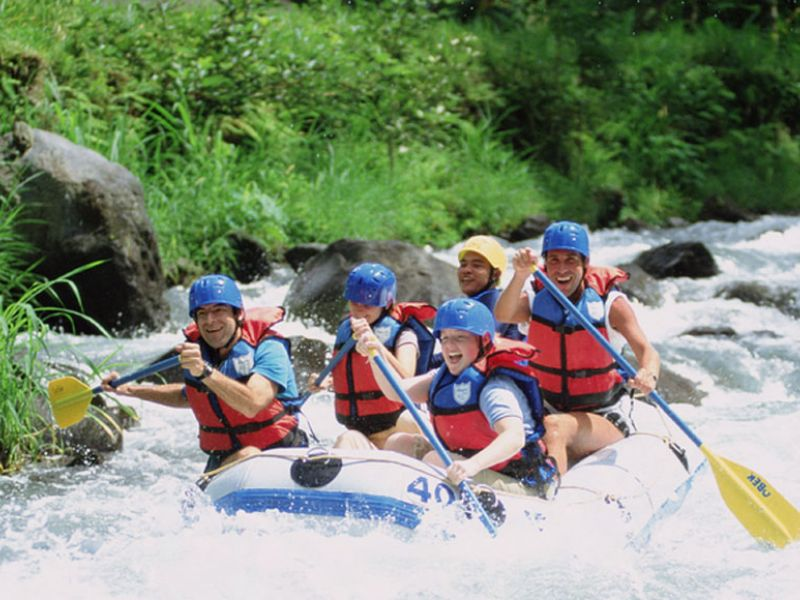 Exciting Rafting!!