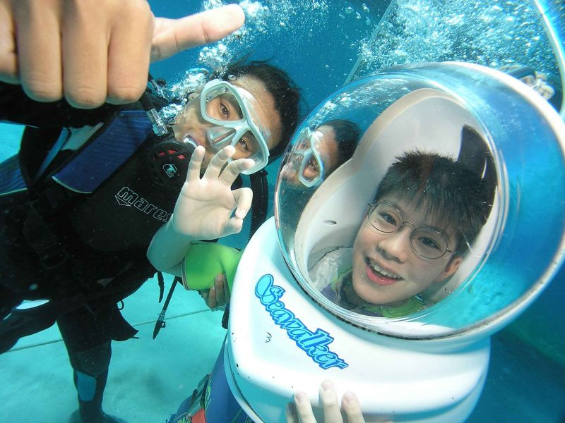 Underwater fun for families