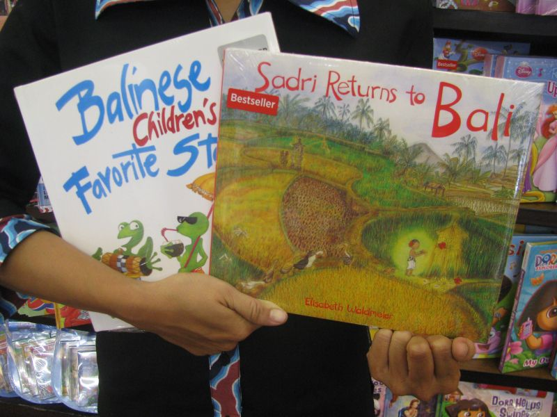 Balinese Story Books