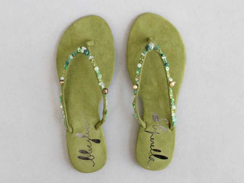 Boho Army Sandals