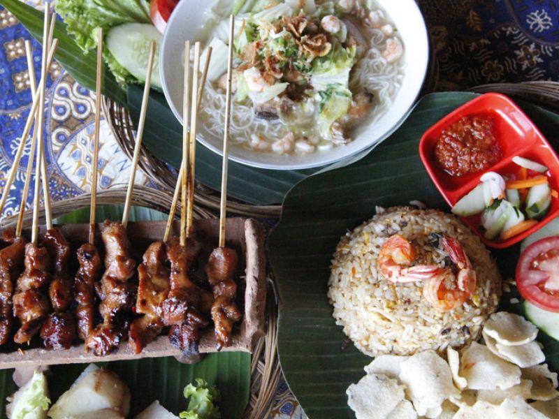 Indonesian dishes