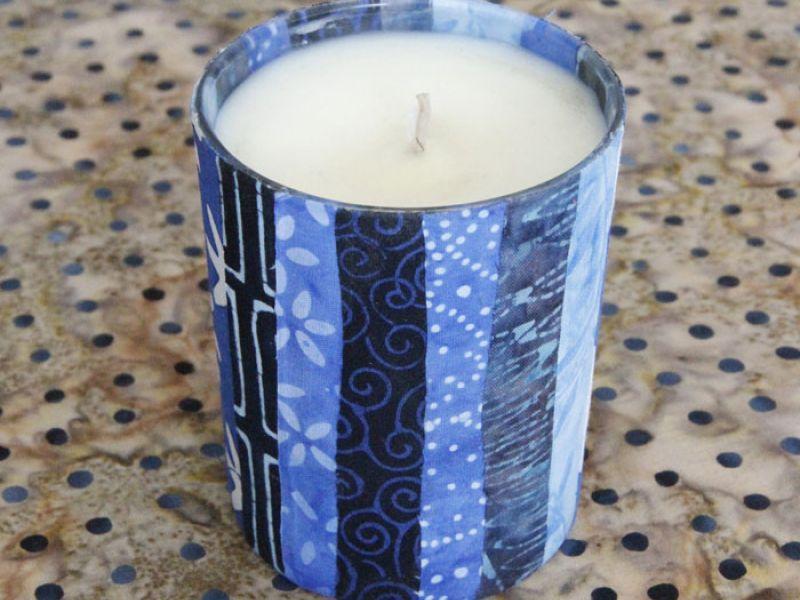 Batik Candle Holder
