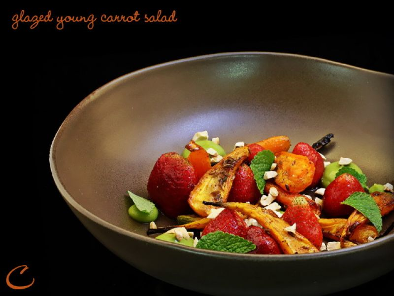 Glazed Young Carrot Salad