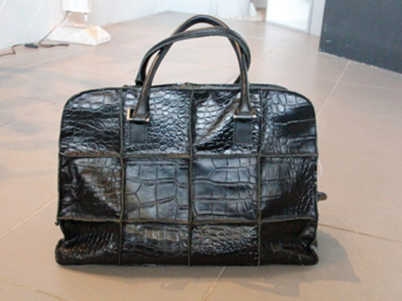Black Patchwork Bag