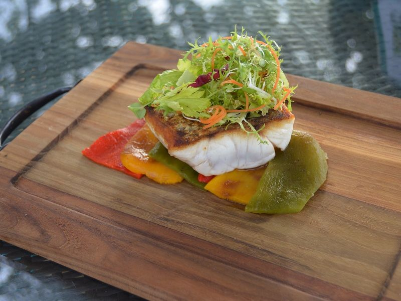 Roasted Pepper and Barramundi