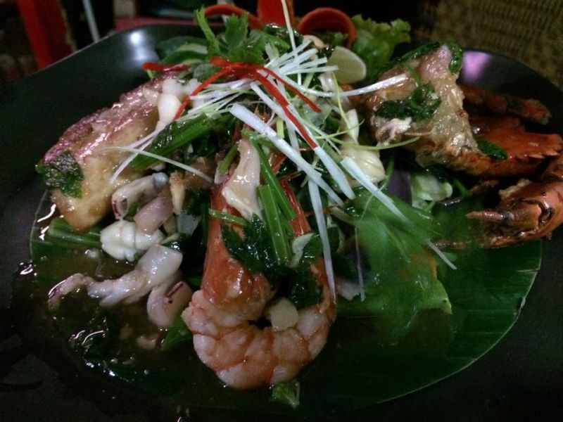 Thai Style Seafood Vegetables