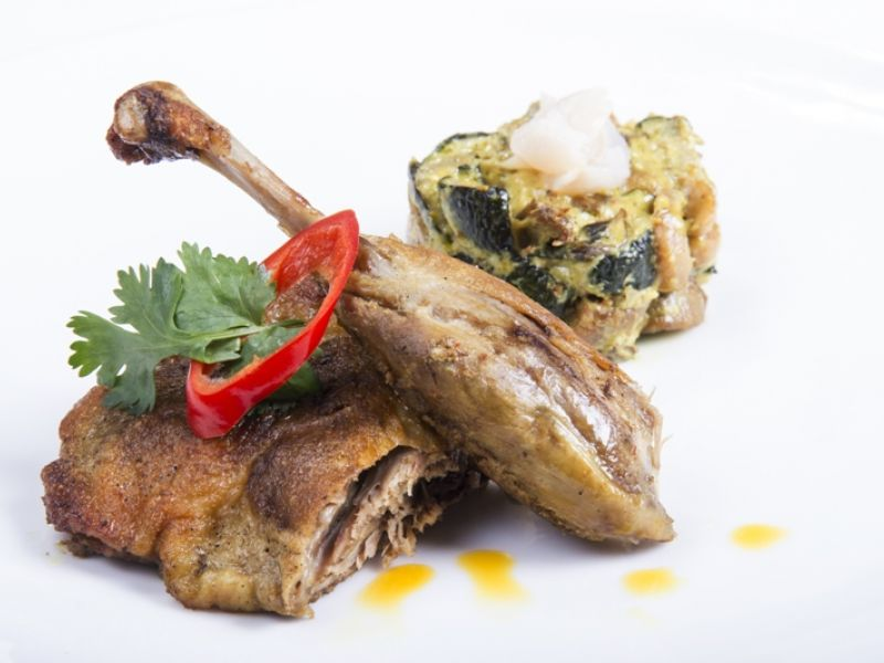Balinese Spiced Duck Leg