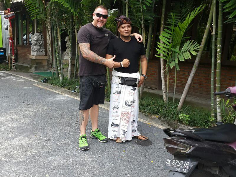 Warung Mina's Manager, Putu Angka Wijaya Putra Kerandan Pemecutan
