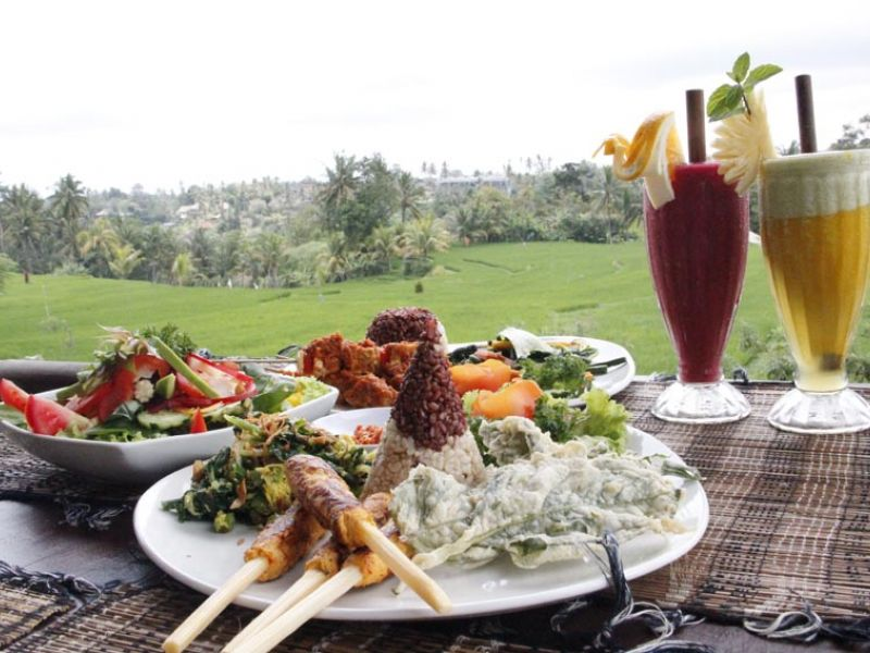 Food and View