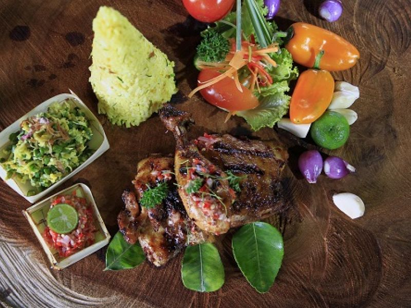 Ayam Panggang Bumbu Bali