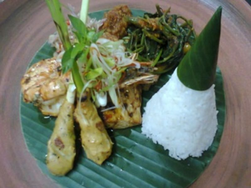 Grilled Balinese Seafood