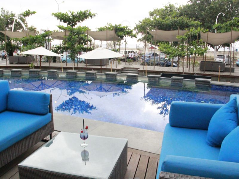 Pool Side Seat