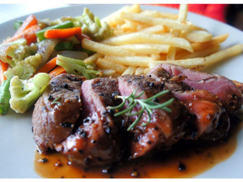 Steak and French Fries