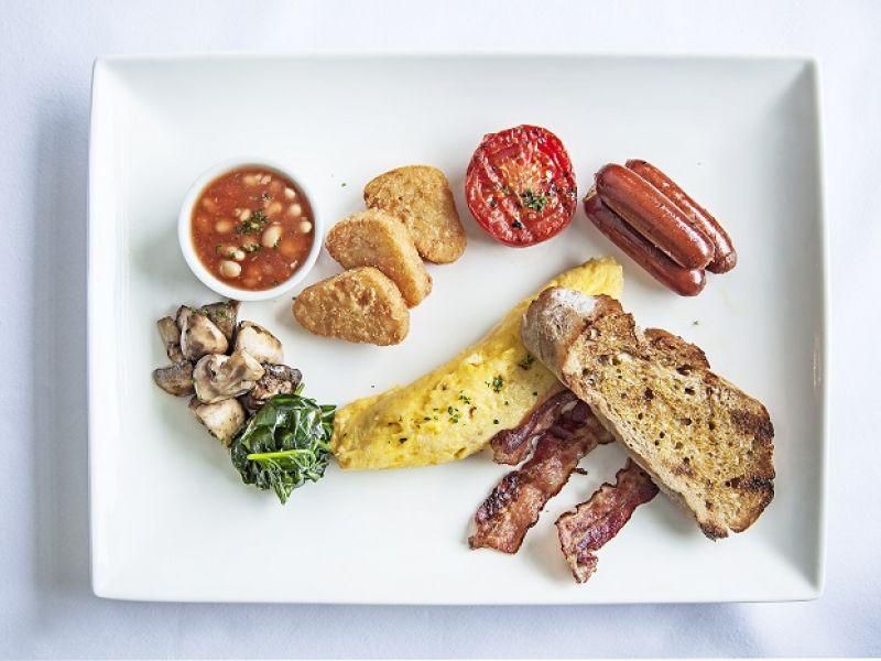 Traditional Big Breakfast
