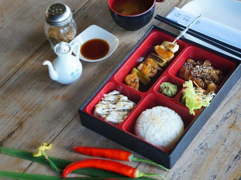 Tahari Sushi Bento